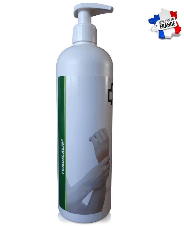 GRAND FLACON ECO 500ml - Pommade Tendinite Crème Massage TENDICALM