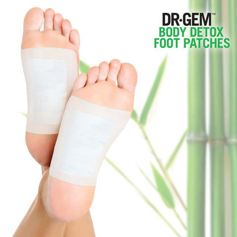 Dr Gem Detox Foot Patches