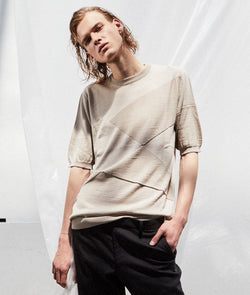 KYO KNITTED TEE - Shohei-collection