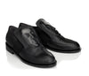 Delicate Black women's loafers with creative design