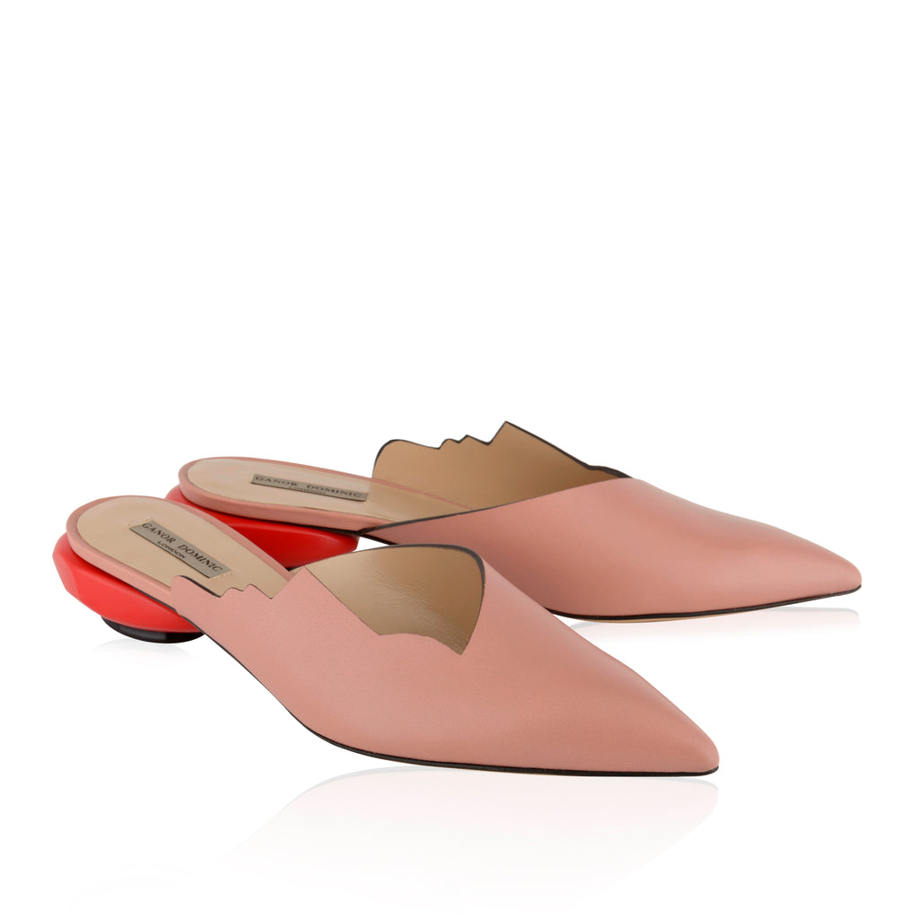 Nice women's Charlie Contour Beige mules from UK