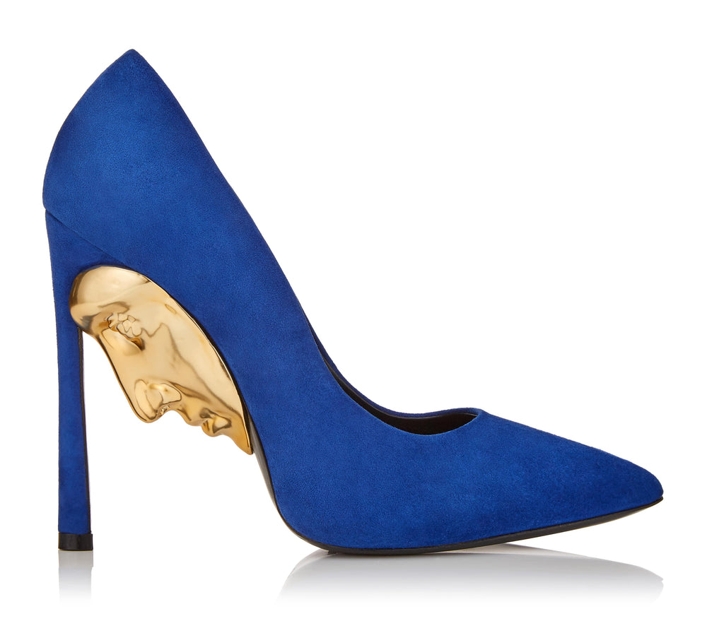 High Heel Women's Blue Shoes Art Apollo