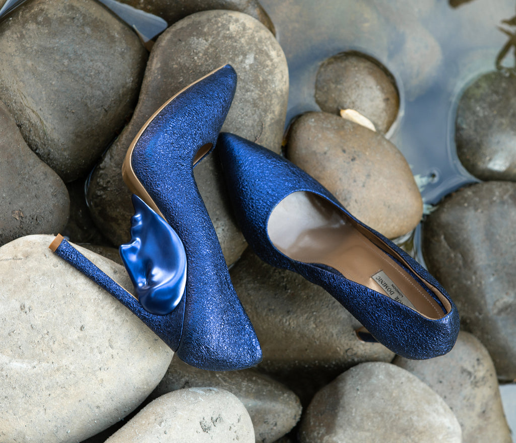 Celebrity Apollo Ocean Blue Women's pumps for Ladies