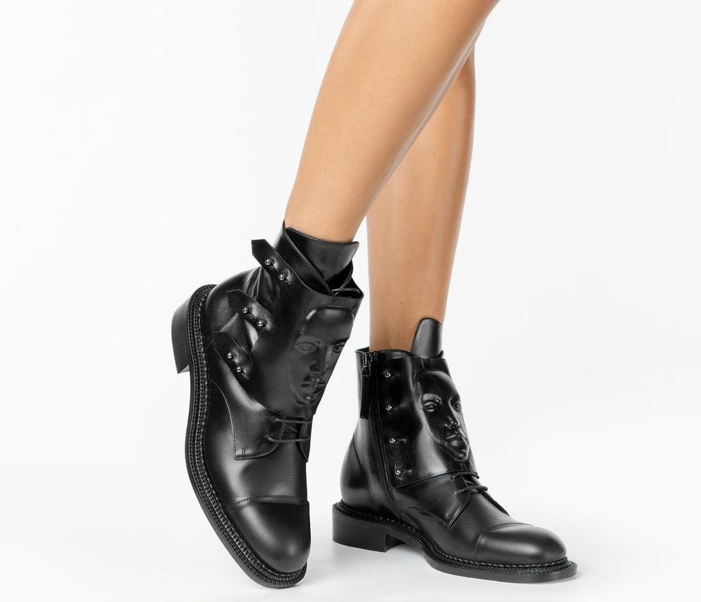 boots Ares black women's shoes from UK