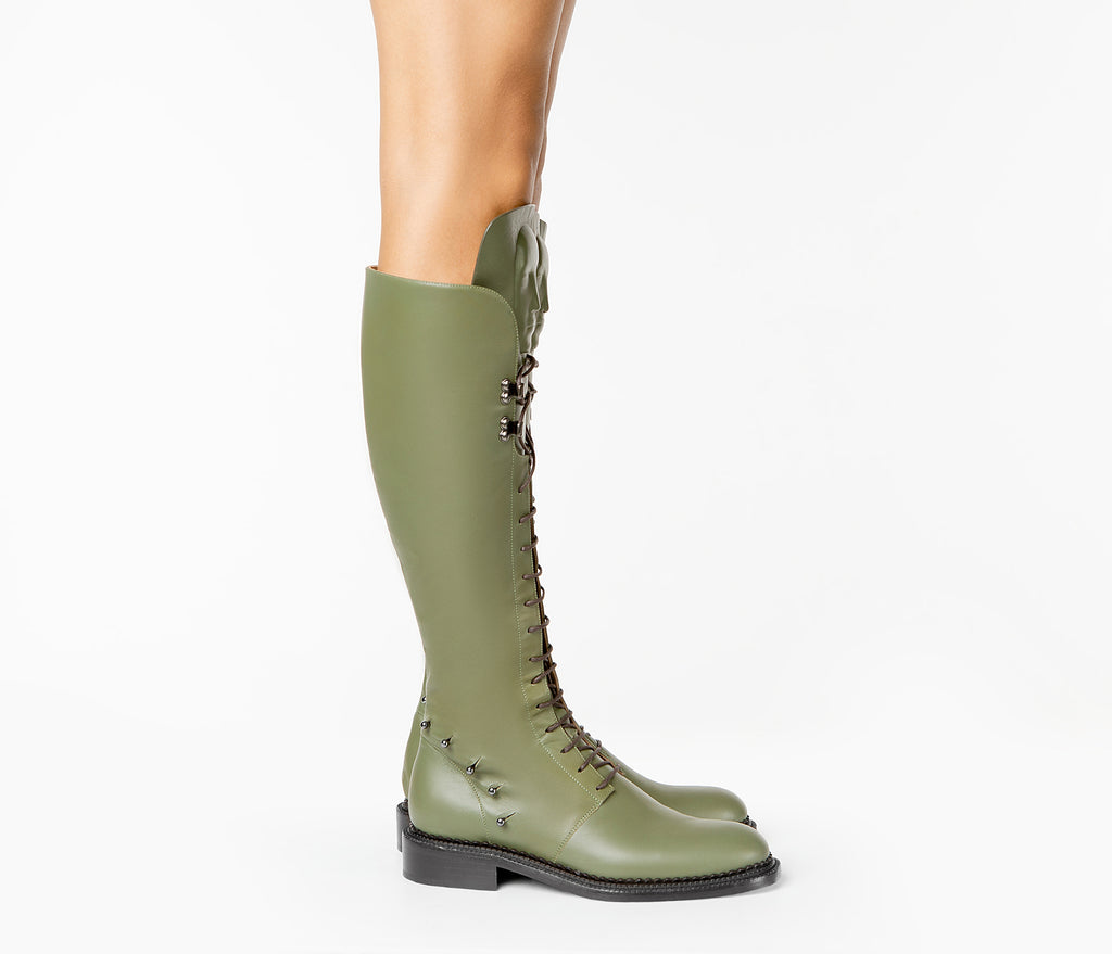 Incredible Art Khaki women boots from the latest UK collection