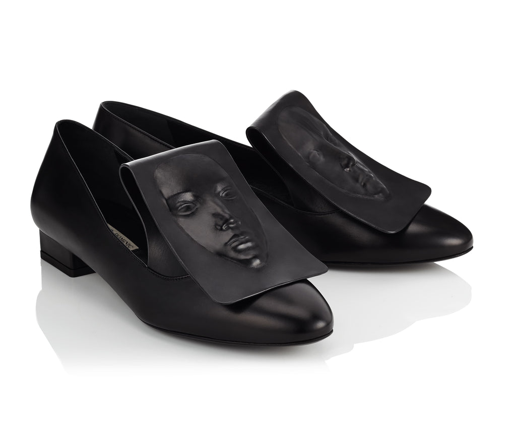 Sophisticated black women's loafers