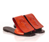 Fashionable Coral women's Slides