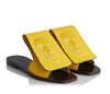 Vogue Women's yellow summer Slides Tyche