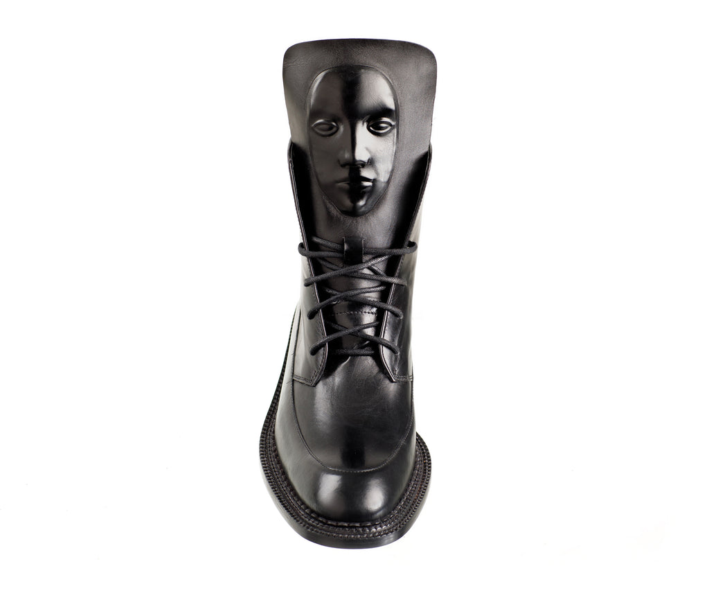 Stylish Zelos Black women's boots from a London brand