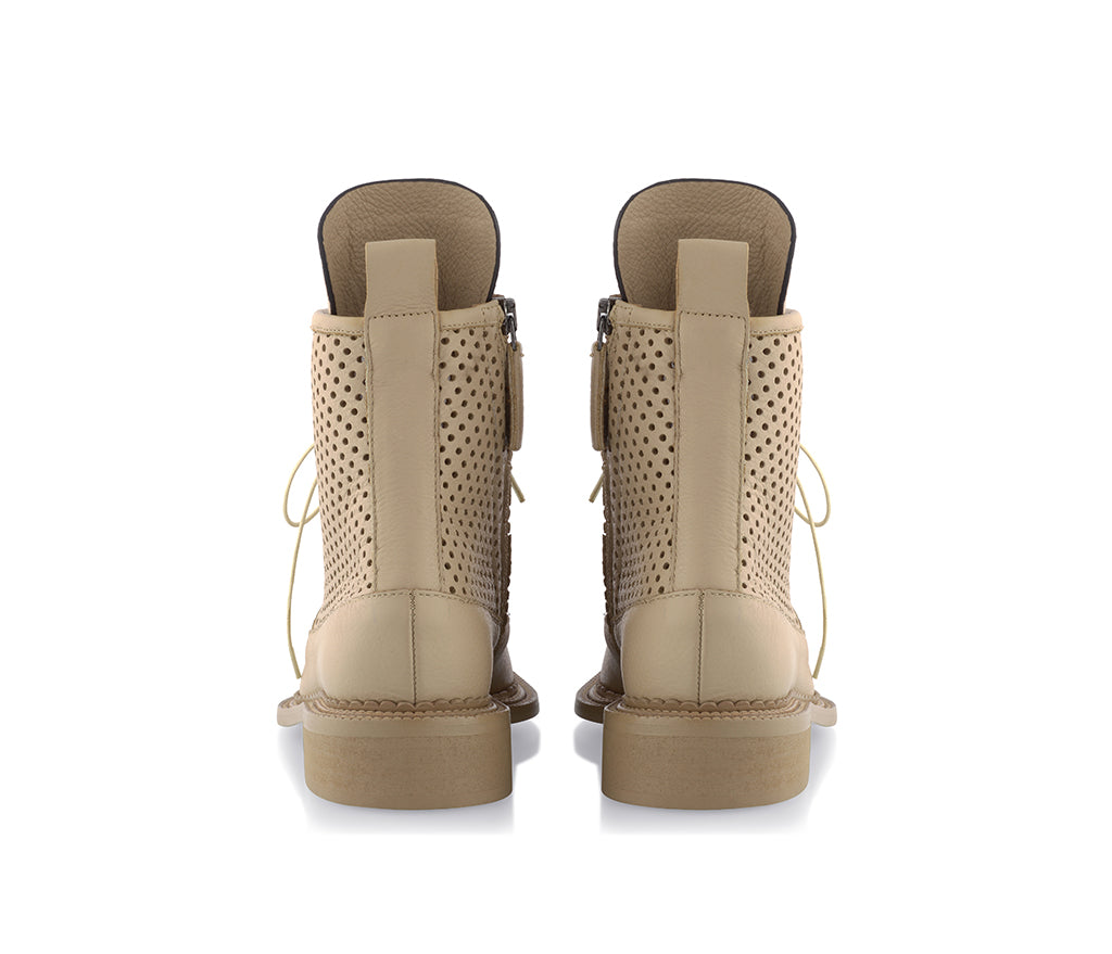 Zelos Beige Perforated