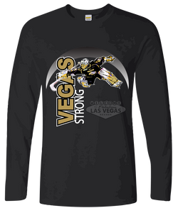 Hockey #VegasStrong Long Sleeve T-Shirt Free Shipping