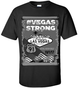 Commemorative #VegasStrong T-Shirt Free Shipping