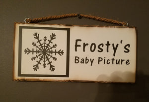 Frosty's Baby Picture