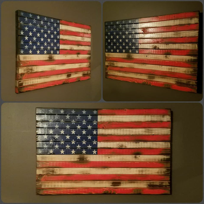 War Torn American Flag, 20