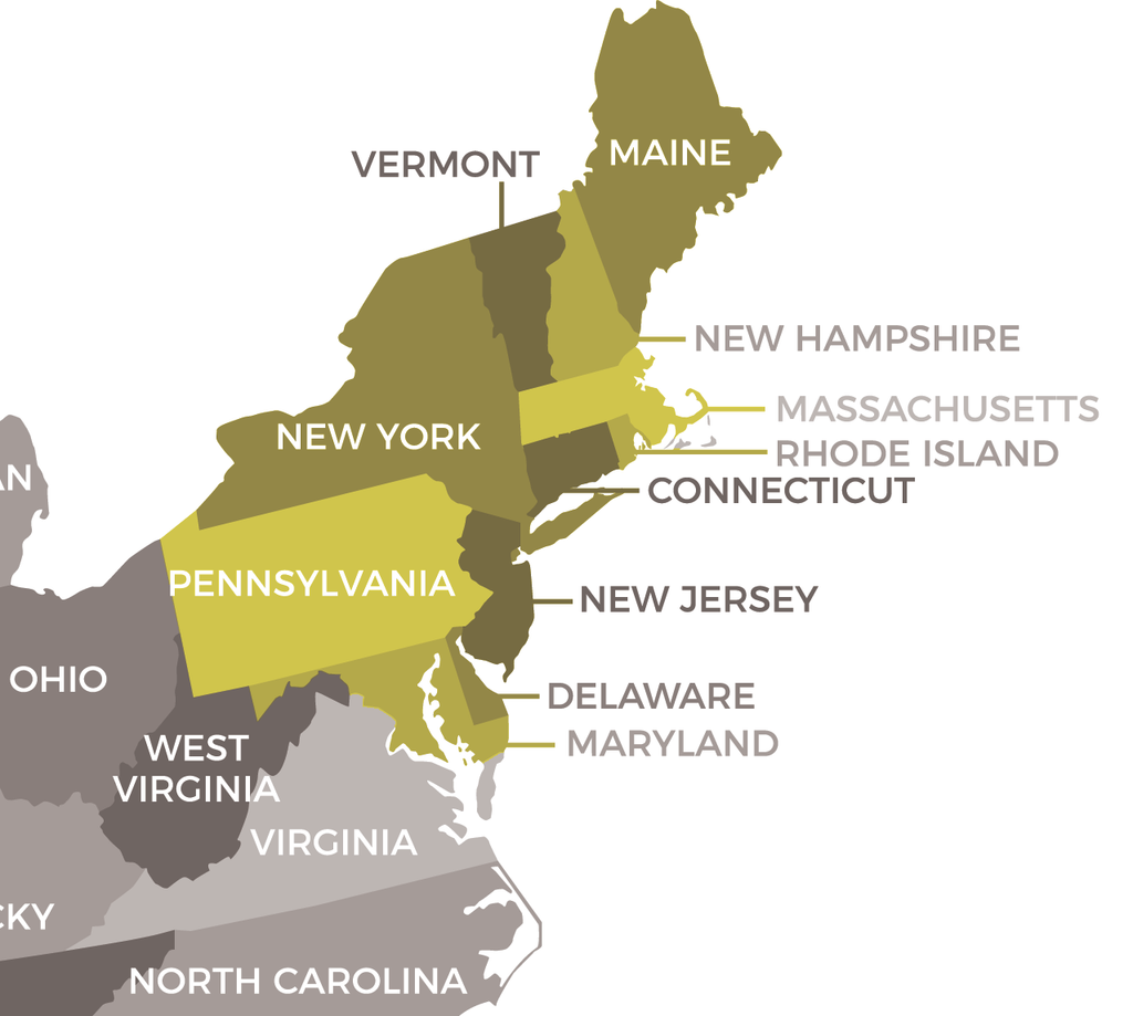 Picture of: Northeast Usa Mapscompany