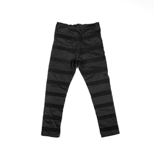 Black Jeans with corduroy stripes