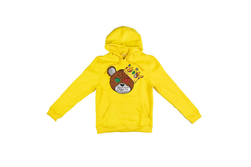 Silence Is Key Hoodie (Yellow)