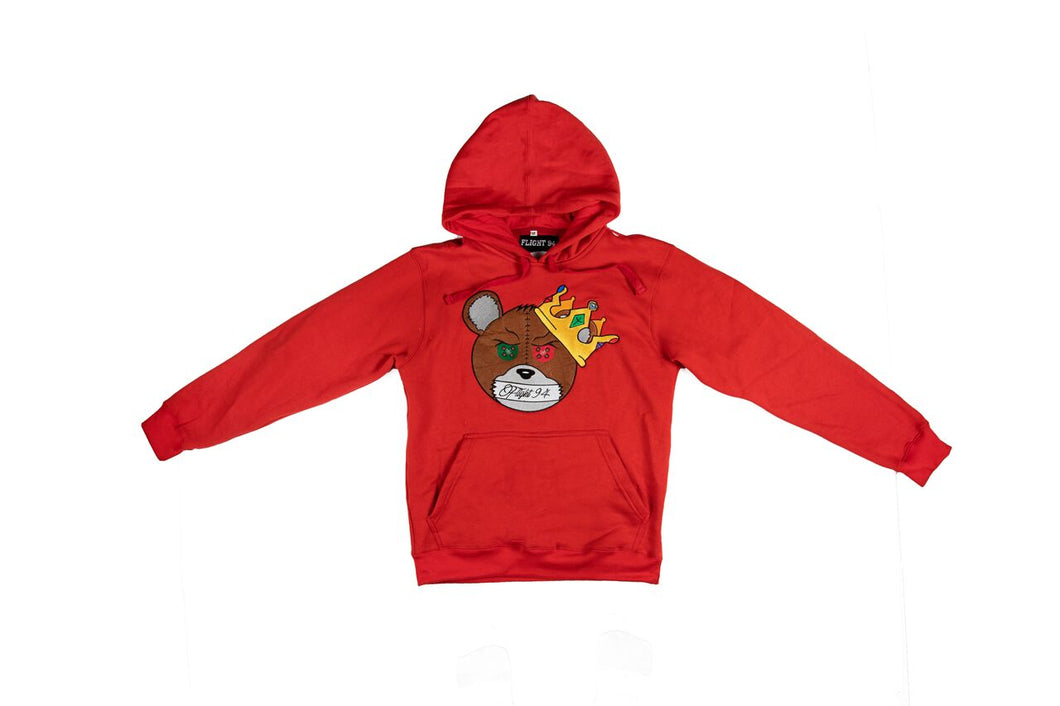 Silence Is Key Hoodie (Red)