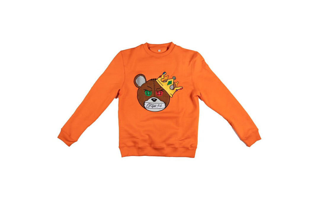 Silence Is Key Sweatshirt (Orange)