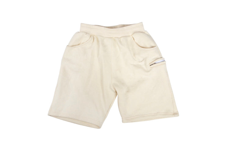 Cream Sweat Shorts