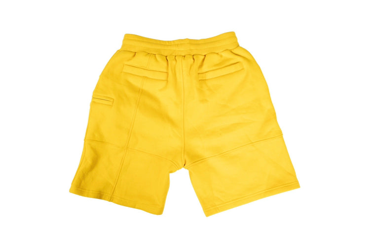 Yellow Sweat shorts