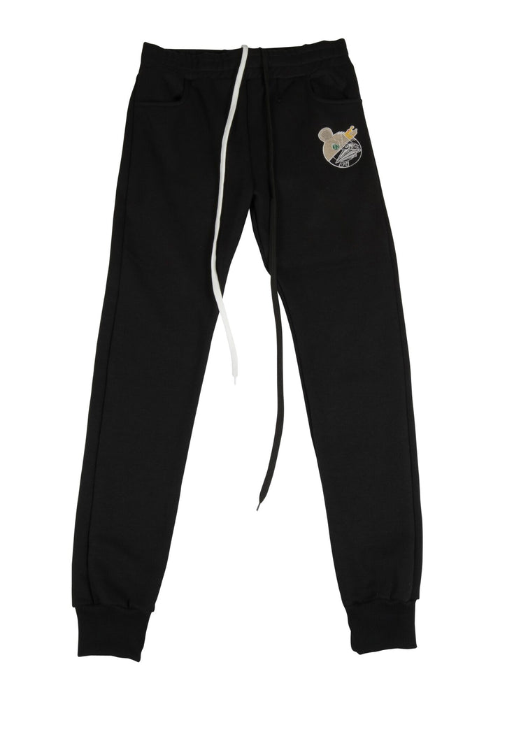 Royalty Sweatpants Black