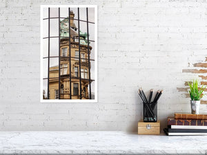 Newcastle upon Tyne:  Old and New print