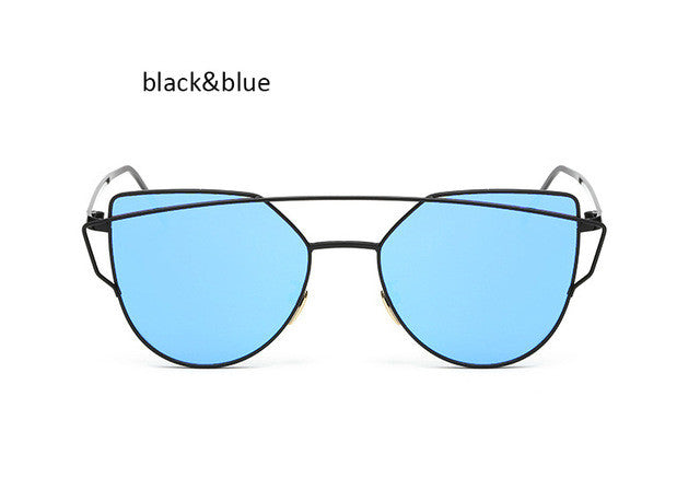 TSHING Classic Fashion Women Cat Eye Sunglasses