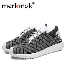 New Design Men Mens Casual Shoes Superstar Style Chaussure Homme Comfort Breathable Knitted Casual Shoes Man Footwear