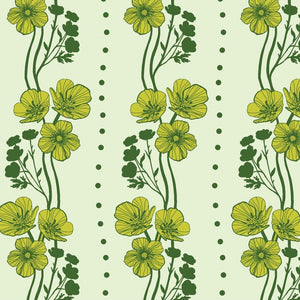 "Anna Maria Horner - Chapter 4, Triple Take Collection ""Bouquet"" - New Buttercups Lime"