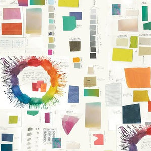"Windham Fabrics - ""Color Theory"" by Carrie Bloomston - Color Therapy Paper"