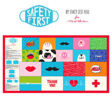 Safety First Face Mask Panel by Stacy Iest Hsu