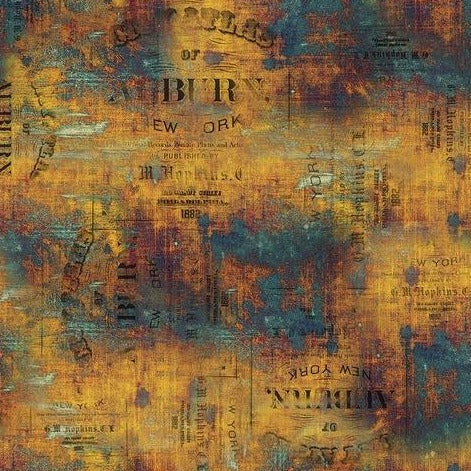 Tim Holtz Eclectic Elements - Abandoned - Urban Grunge - Patina