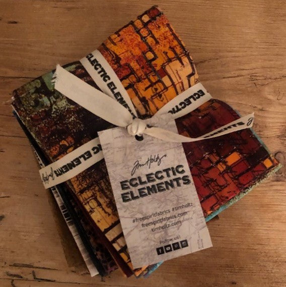 Tim Holtz Eclectic Elements - Abandoned - Fat Quarter Bundle