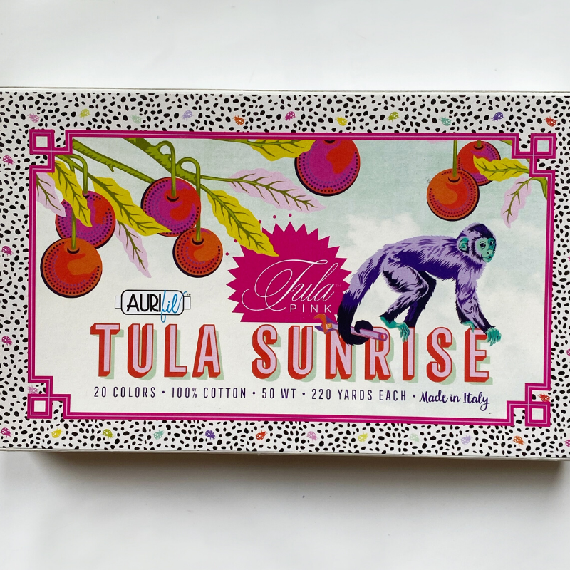 Tula Pink Sunrise Aurifil, Monkey Wrench
