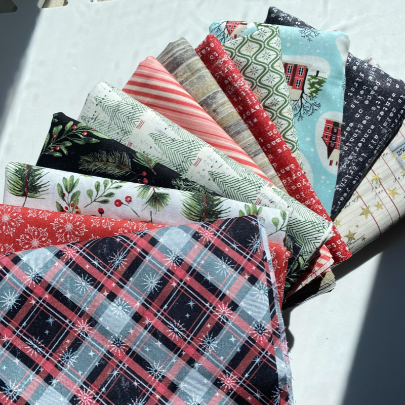 Half Yard Bundle Yuletide