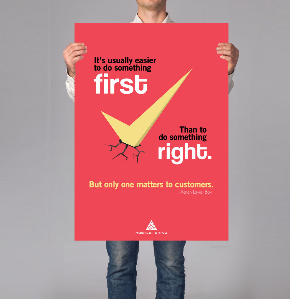 Aaron Levie - First vs Right