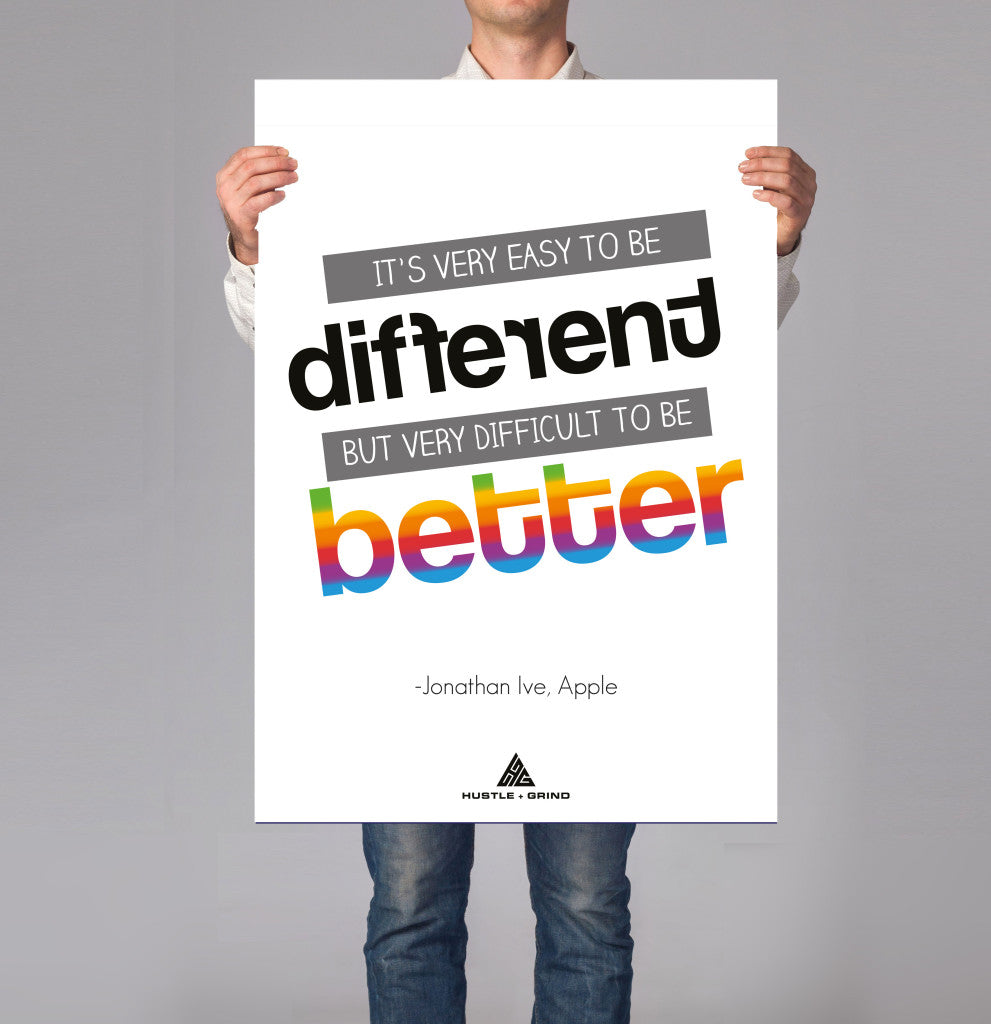 Jonathan Ive - Different Better