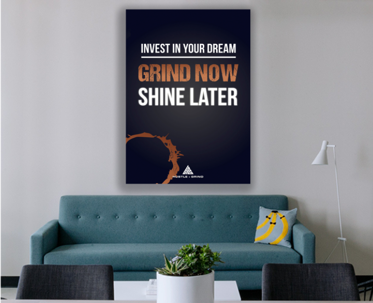 Invest in your dream poster