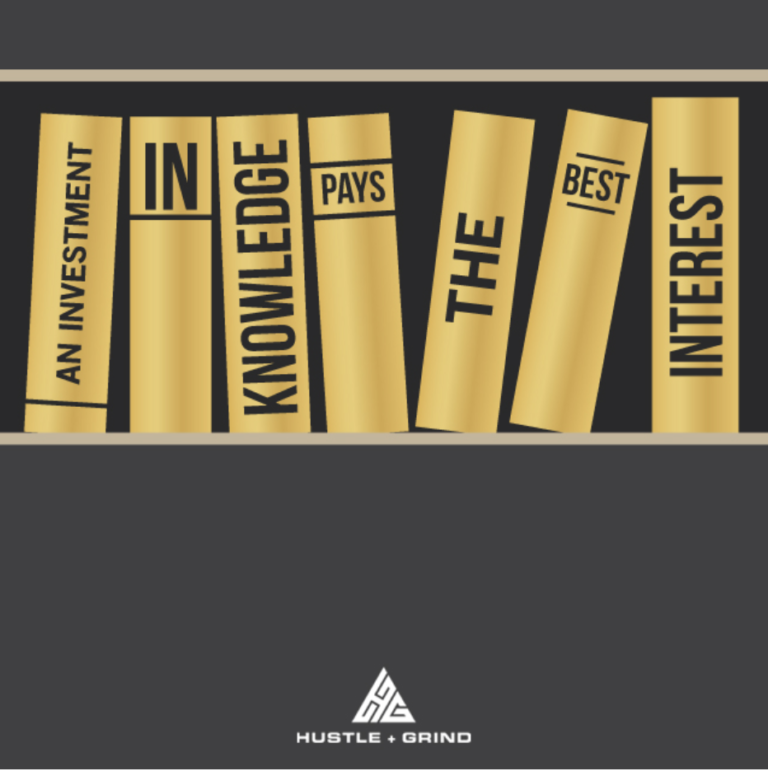 Invest in Knowledge motto