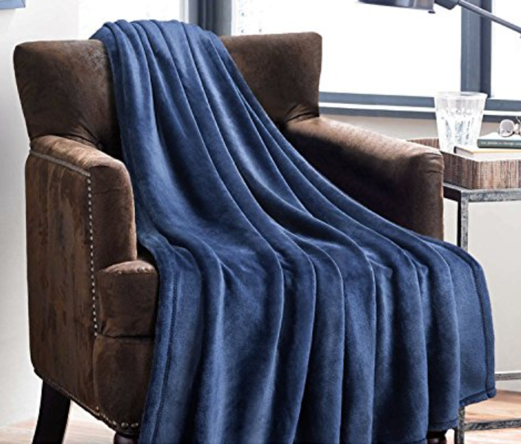 Amazon microfibre throw blanket