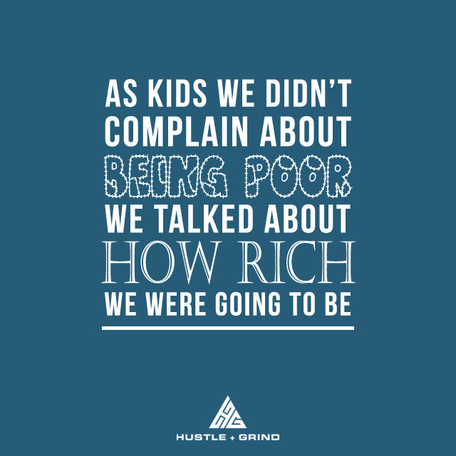 Kids We Complain About Poor - Inspirational Quote