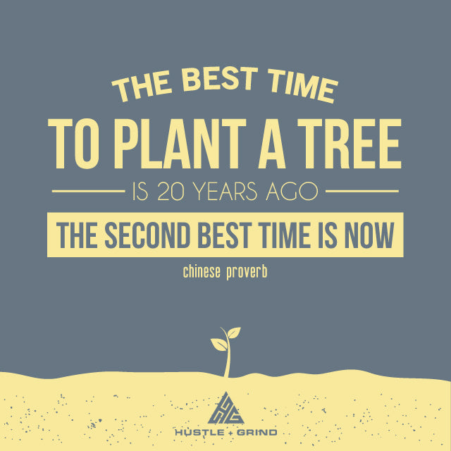 Best Time To Plant A Tree Is 20 Years Ago - Chinese Proverb