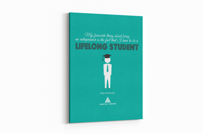 Lifelong Student - 12x16
