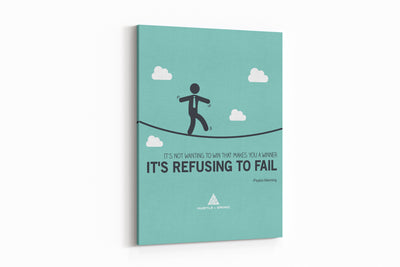 Refusing to Fail - 12x16