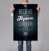 Believe In You Flyness 18x24