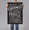 Greatness Dictionary 18x24
