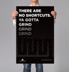 No Shortcuts 18x24