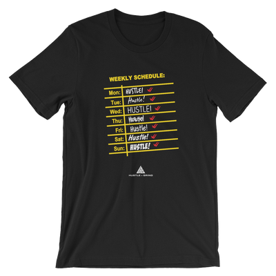 Women's Schedule Shirt