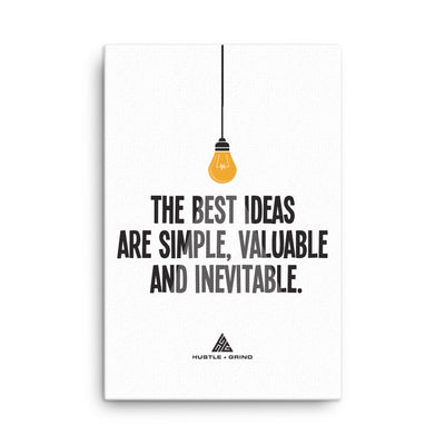 The Best Ideas - 24x36